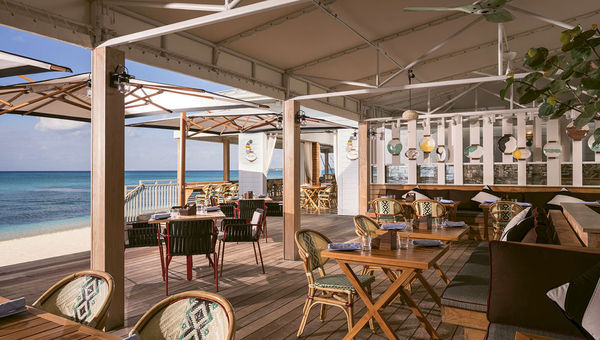 The Coccoloba restaurant pairs great ocean views with ceviche and tacos.