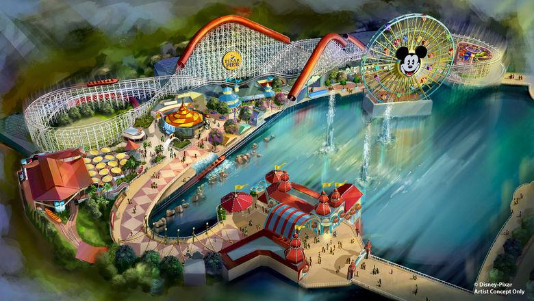Incredibles-themed coaster coming to Disneyland Resort