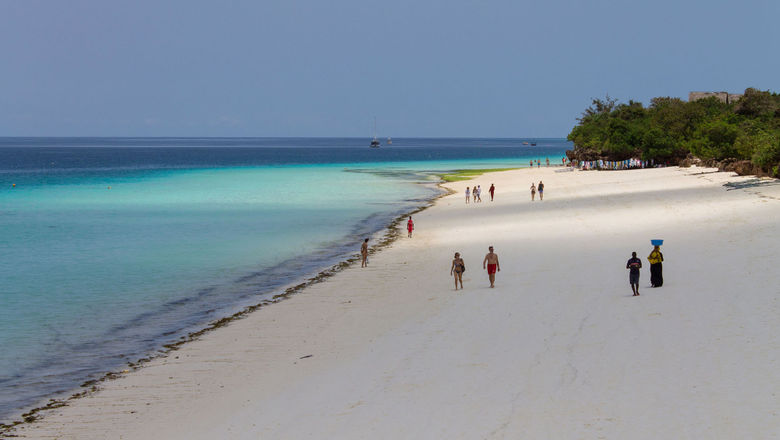 Zanzibar's Nungwi beach.