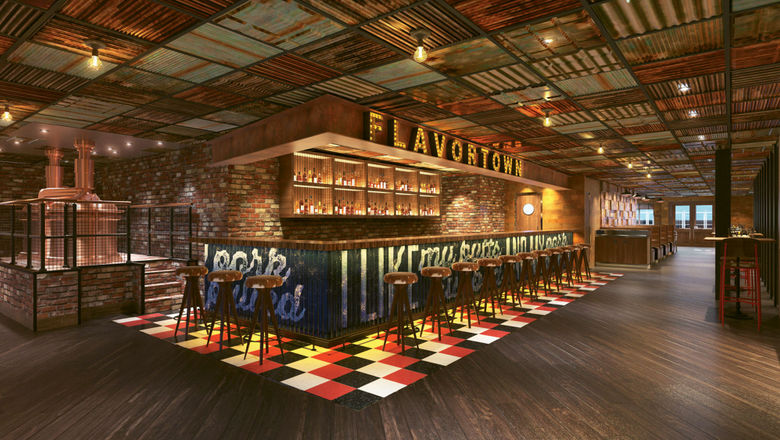 Guy's Pig & Anchor Bar-B-Que Smokehouse was developed by Carnival in partnership with celebrity chef Guy Fieri.