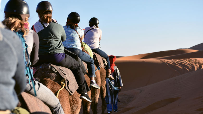 Morocco is among the international destinations being offered by Club Adventures.