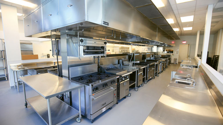 The Emeril Lagasse Foundation Culinary Lab at the New Orleans Culinary & Hospitality Institute.