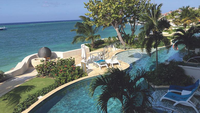 Sandals Montego Bay in Jamaica.