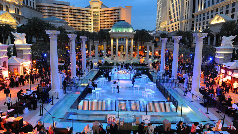 The Vegas Uncork'd Grand Tasting is an annual dine-around featuring many of the city's top restaurants.