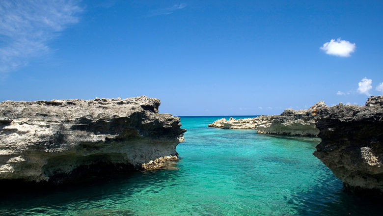 Smith Cove on Grand Cayman.