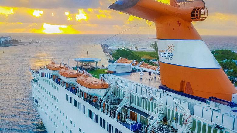 Grand Celebration cruise ship on humanitarian mission