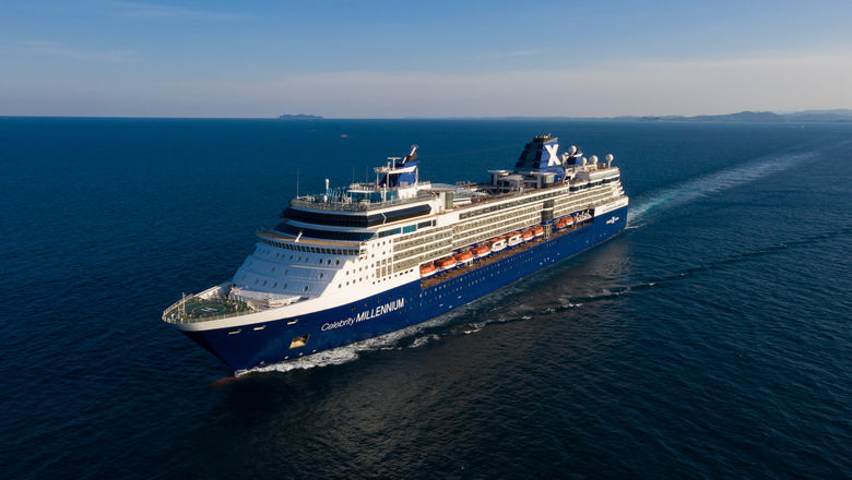 The Celebrity Millennium is being repositioned from Asia and will be in Los Angeles in March.