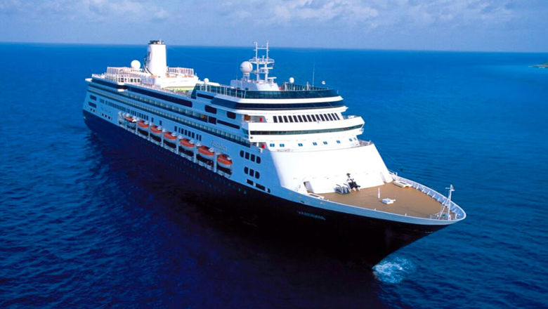 The Zaandam has been sailing with its current group of passengers for 24 days.