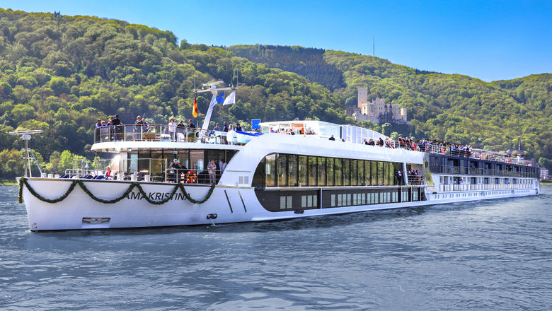 The AmaKristina. AmaWaterways launched what is essentially a two-for-one river cruise offer for medical personnel and first responders.