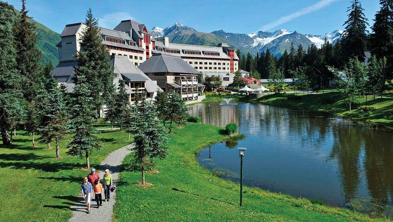 The Alyeska Resort in Girdwood, Alaska, reopened this month.