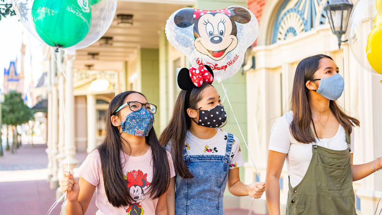 All guests who are at least 2 years old will be required to wear face coverings.