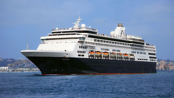 The 1,350-passenger Veendam was the final S-Class ship, delivered in 1996.