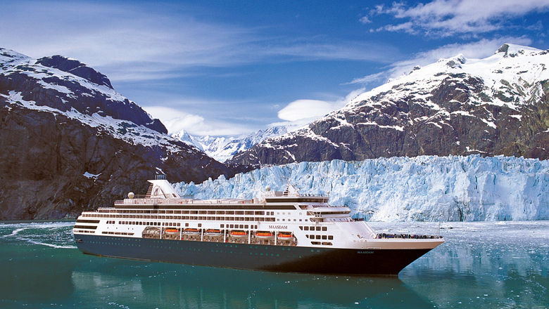 The 1,258-passenger Maasdam joined Holland America Line's fleet in 1993 as the second of four S-Class ships.