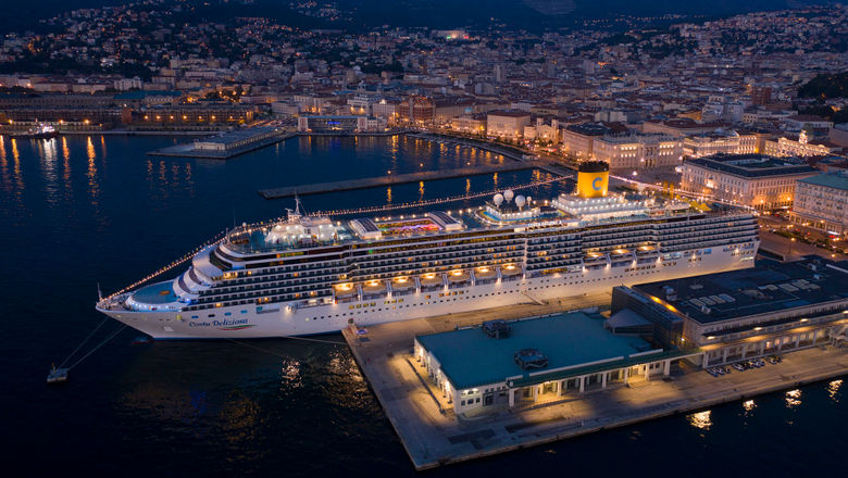 Demand for Europe cruises is outpacing demand for Caribbean sailings for 2022. Pictured, the Costa Deliziosa.