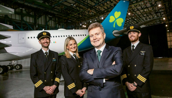 Aer Lingus CEO Sean Doyle, seen here in a 2019 photo, is taking the reins at British Airways.