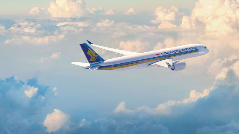 Singapore Airlines' Airbus A350-900 aircraft has 42 seats in business class and 24 in premium economy.