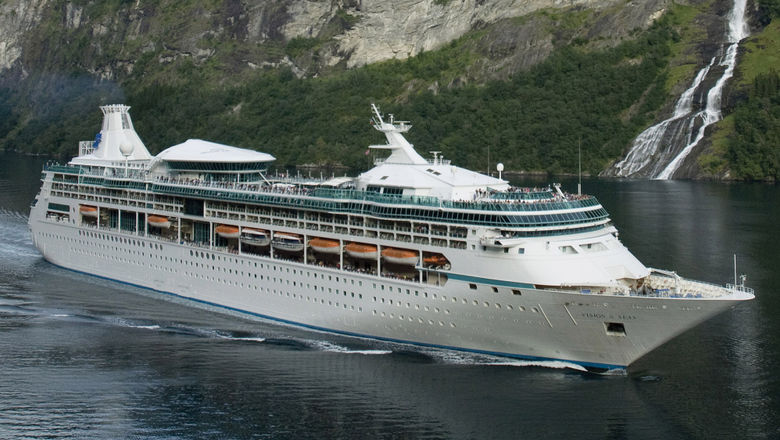 Royal Caribbean International canceled its upcoming Vision of the Seas season from Bermuda, citing the increasing prospect of a cruise restart from the U.S. this summer.