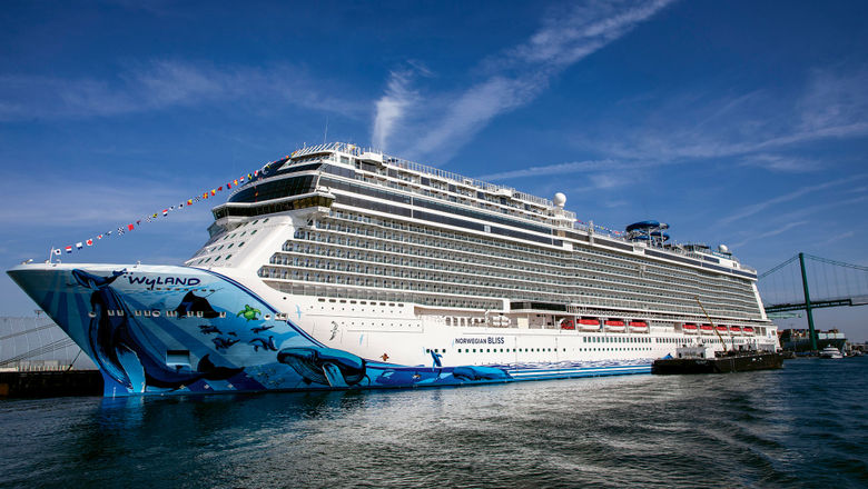 The Norwegian Bliss was the first NCL ship to serve Starbucks coffee onboard. By the end of next year, all 17 of the line's ships will offer the brew.
