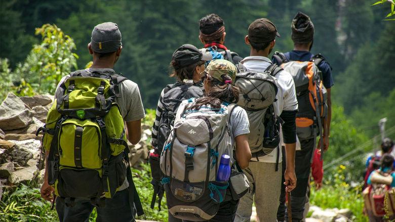 Hikers explore Jamaica's interior.