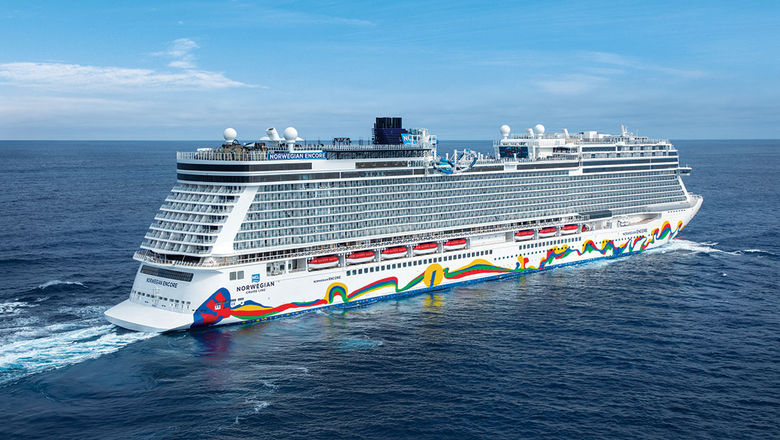 "The Norwegian Encore is featured in ""Adventure Awaits,"" the final episode of Norwegian Cruise Line's online docuseries ""Embark -- the Series."""
