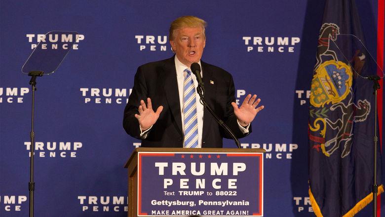 Trump in Gettysburg