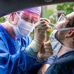 Coronavirus covid test [Credit: zstock/Shutterstock.com]
