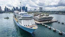 Royal Caribbean resumes cruising with Singapore departure