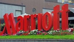 Marriott sign [Credit: Andrea Delbo/Shutterstock.com]