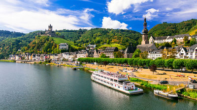 Germany river cruise in Cochem