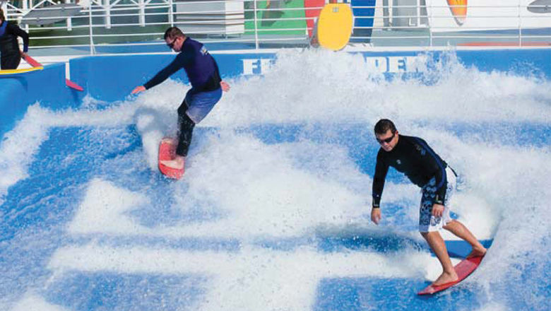 The ship will debut a FlowRider surf simulator this fall.