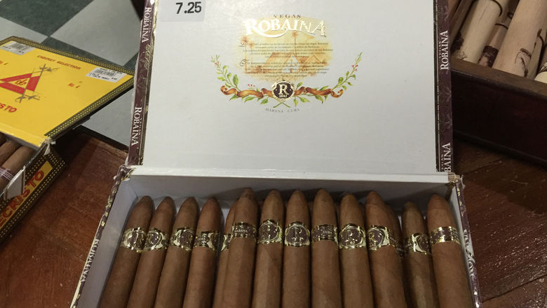 Cuban cigars for sale. Americans can now bring home unlimited quantities for personal consumption.