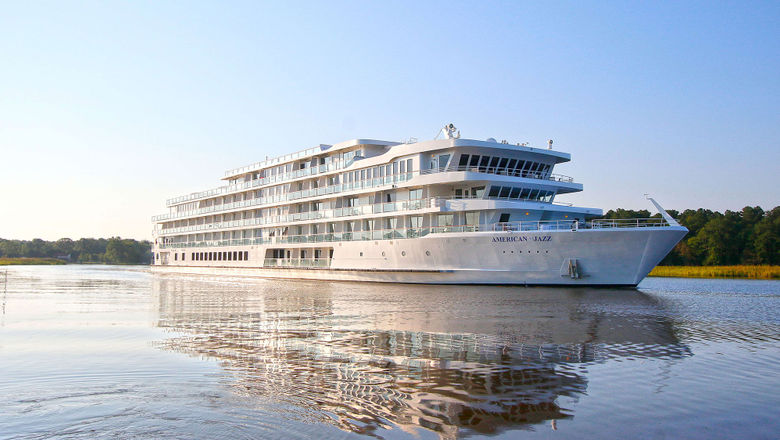 The American Jazz is the third of American Cruise Lines' five planned modern riverboats.