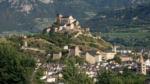 Valais Area, Switzerland