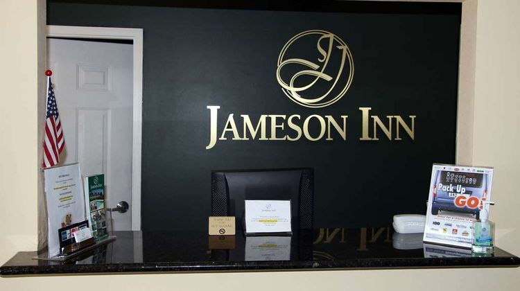 Jameson Inn Oakwodd Lobby