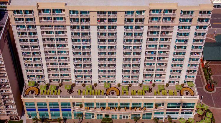 Hilton Garden Inn Oceanfront Exterior
