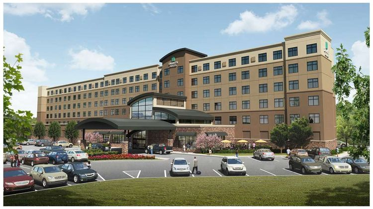 Embassy Suites Akron Canton Airport Exterior
