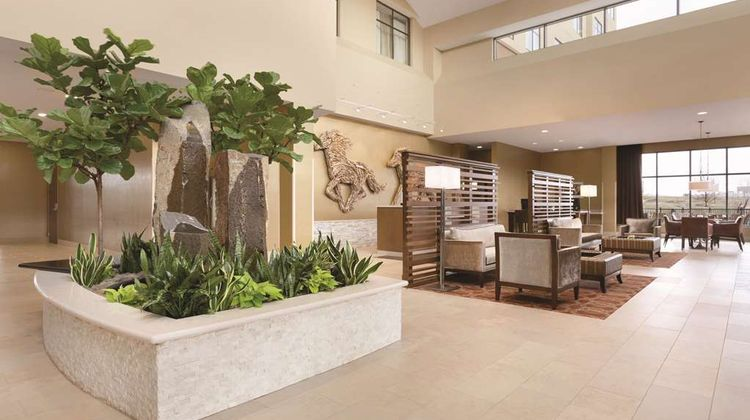 Embassy Suites Akron Canton Airport Lobby