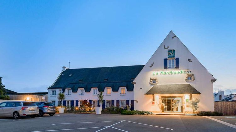 Quality Hotel La Marebaudiere Exterior