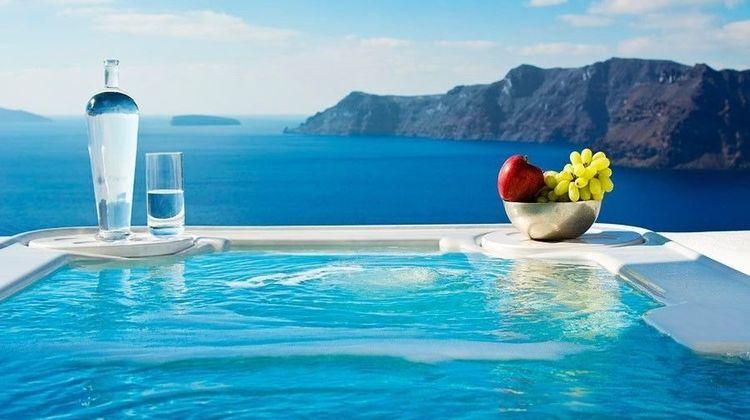 Art Maisons Aspaki and Oia Castle Hotel Pool