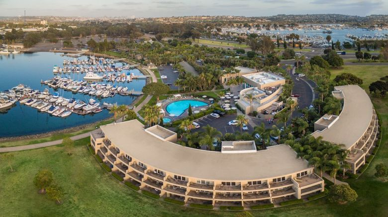 The Dana on Mission Bay Hotel Exterior