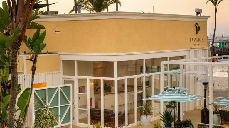 Pavilion Hotel Exterior