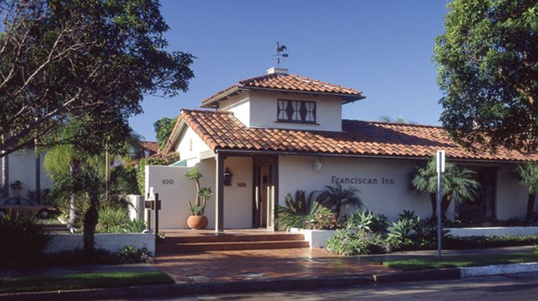 The Franciscan Inn Exterior