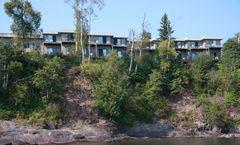 Cliff Dweller on Lake Superior