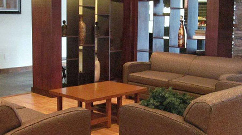Holiday Inn Greensboro Airport Lobby