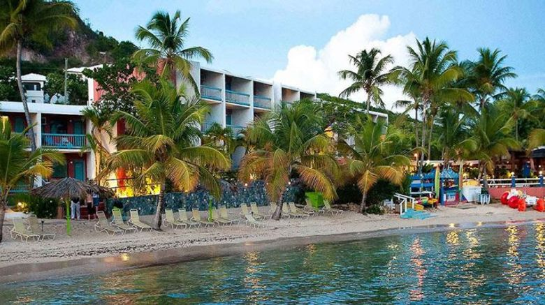 Bolongo Bay Beach Resort Exterior