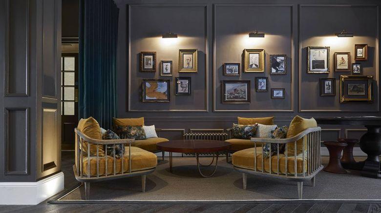 Kimpton Charlotte Square Hotel Lobby