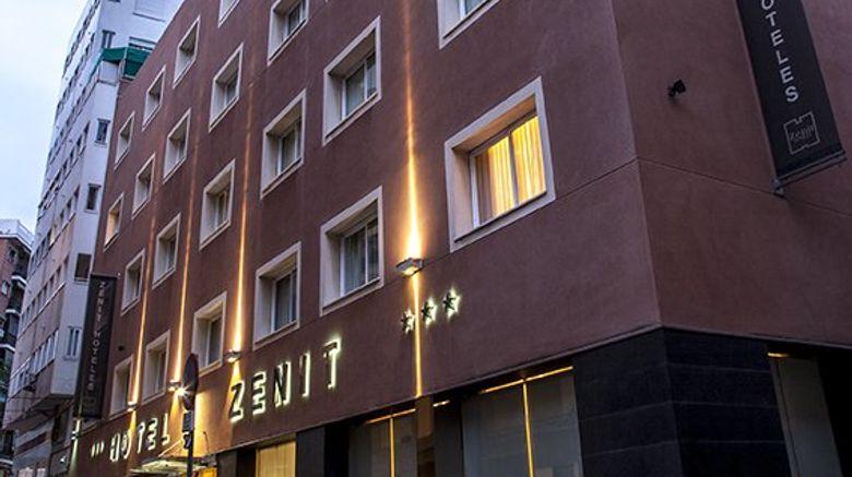Hotel Zenit Malaga Exterior