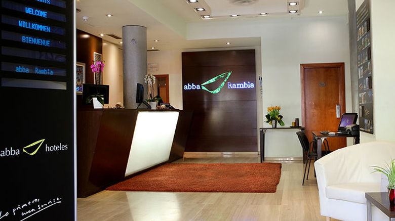 Abba Rambla Hotel Lobby