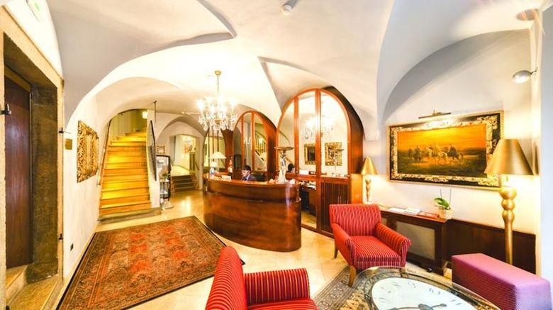 The Golden Wheel Lobby