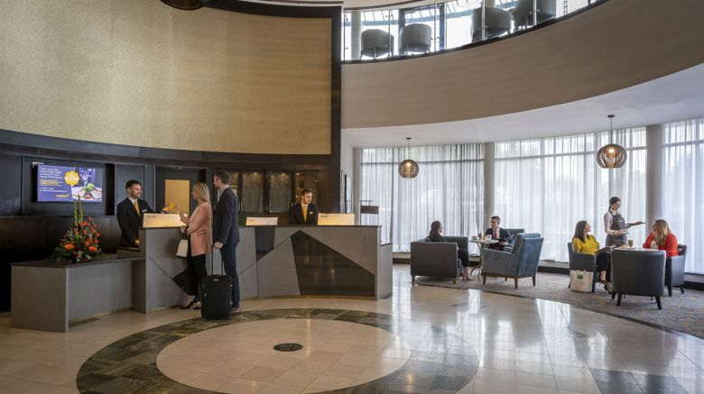 <b>Maldron Hotel Sandy Road Galway Lobby</b>